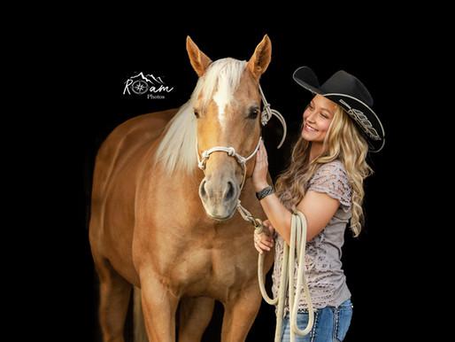 Beautiful Sisters & Beautiful Horses