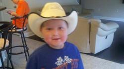 Trenton Noll & new cowboy hat!