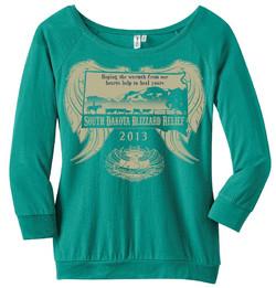 South Dakota Blizzard shirt design