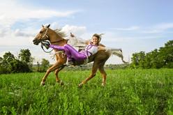 Stunt Rider - Pittsburgh Equine Photographer