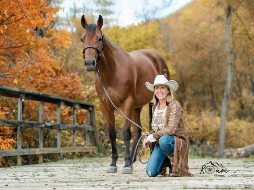 Another Beautiful Cowgirl & Her Beautiful Horses