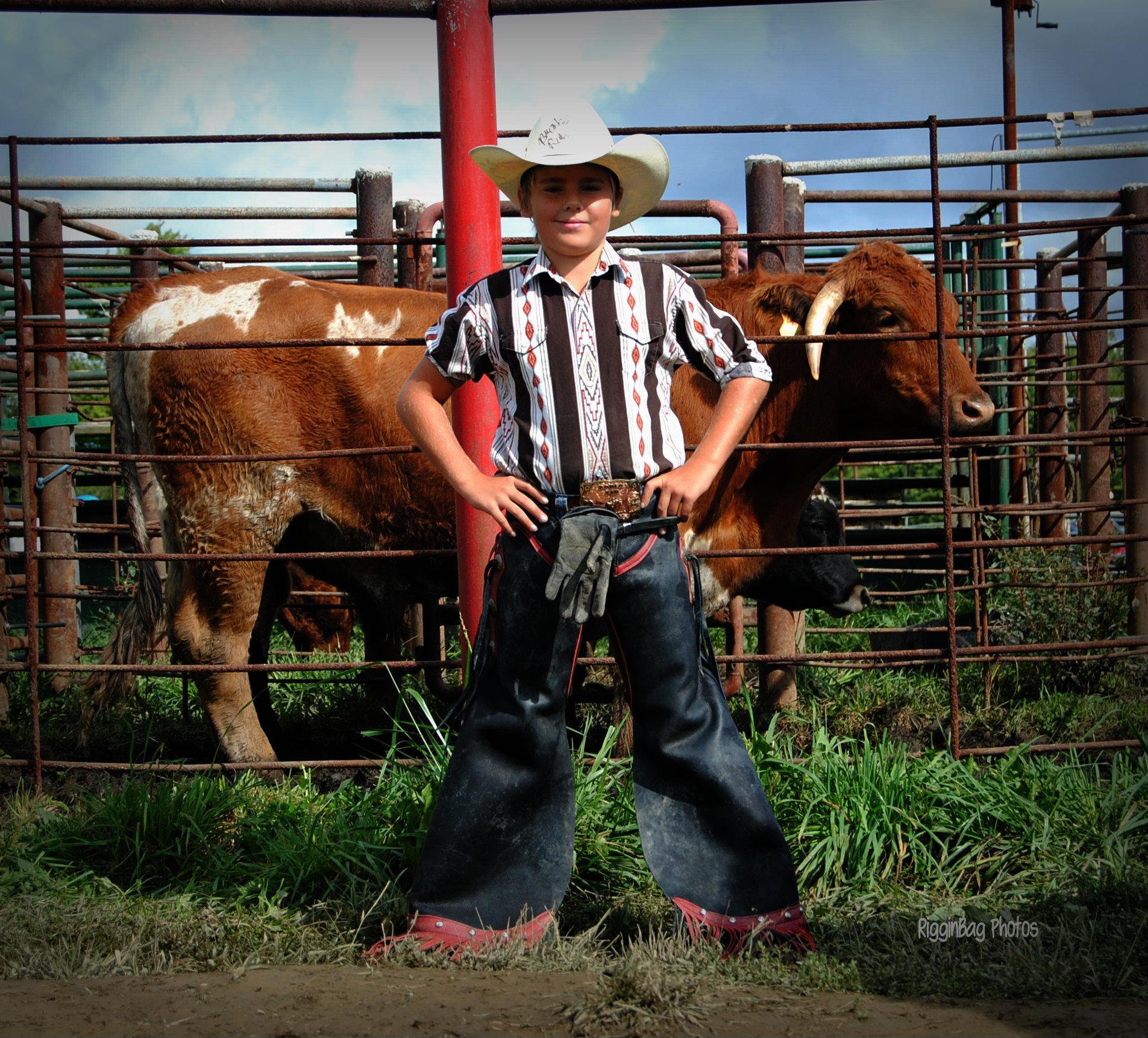 Aaron Amon Famous Bull Rider