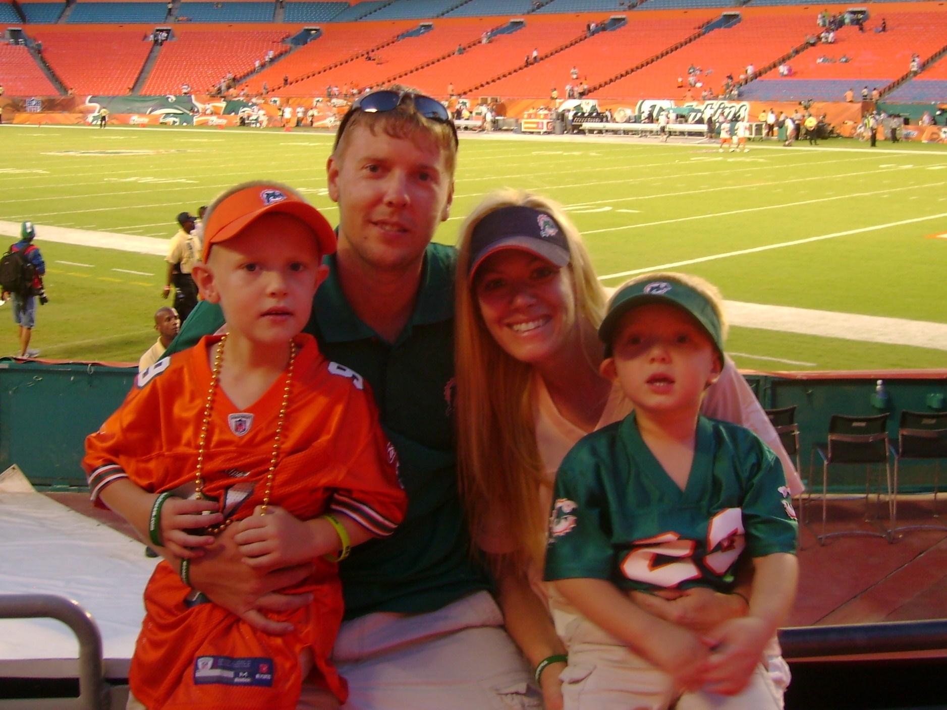 Trenton & family