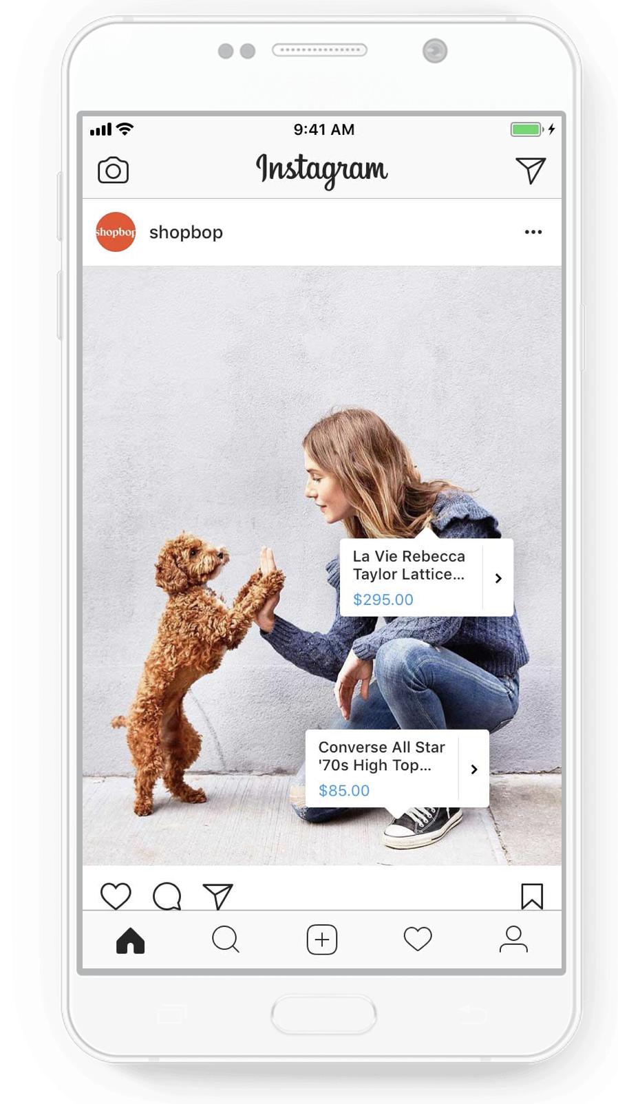 Facebook thử nghiệm quảng cáo cho phép người dùng thử quần áo ngay trên News Feed
