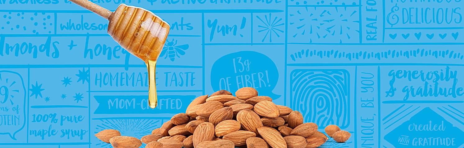 BejiBars Honey and Almond Gluten Free Vegan Protein Bar