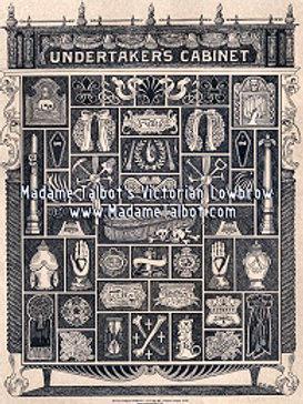 Poster-Undertaker's Cabinet