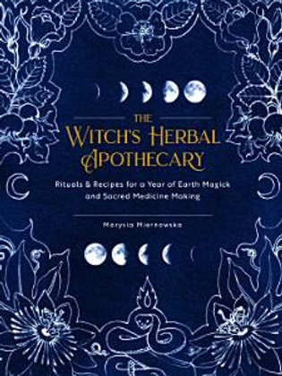 Book-The Witch's Herbal Apothecary