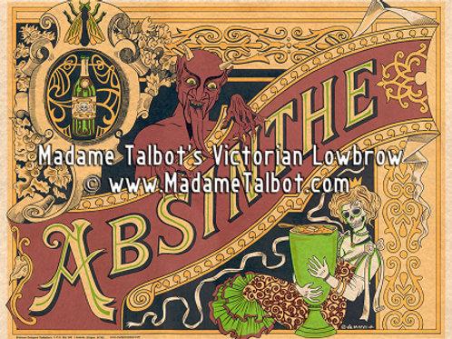 Poster-Absinthe