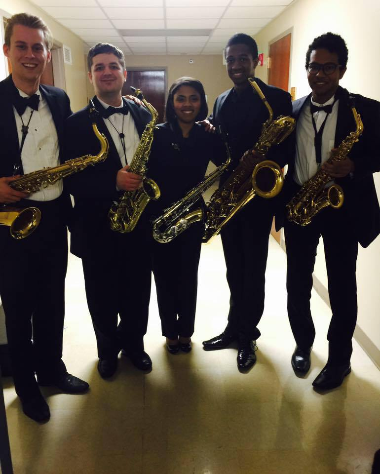 Samford Wind Ensemble Saxophones