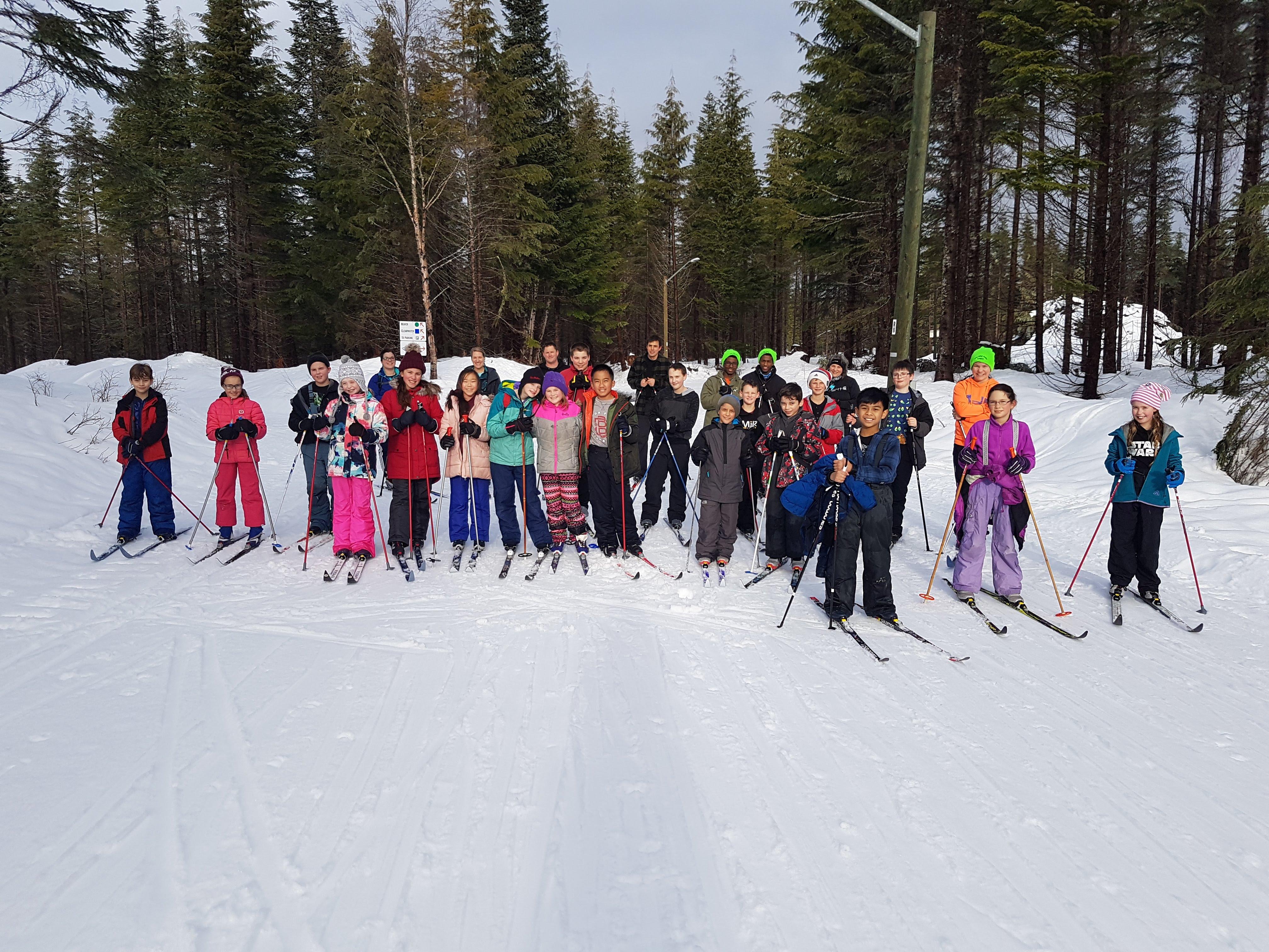 Skiing Gr 5 Jan 2019