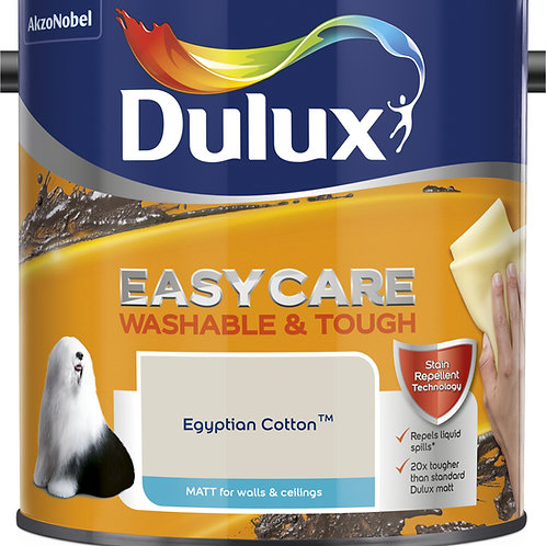 Easycare Egyptian Cotton 2.5ltr