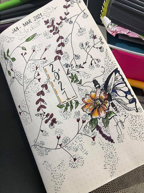 Black Dot Journal Designed