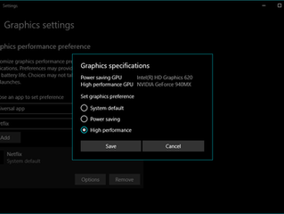 Improve app performance in Windows 10