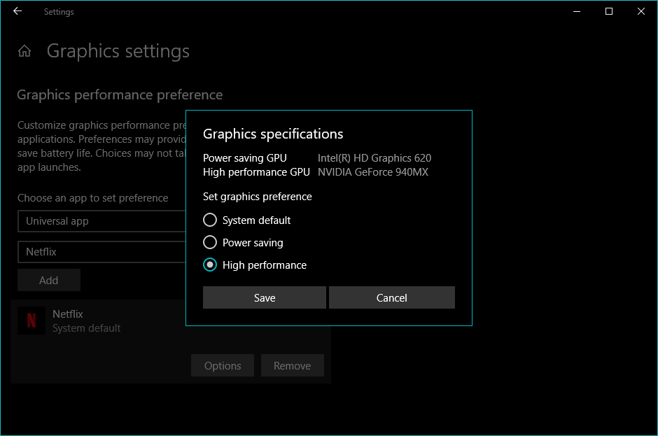 Speed Up Windows 10 Improve Graphics Performance