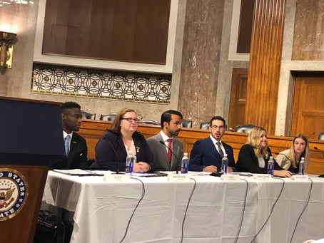 CASA DC Attends CCAI Foster Youth Intern Congressional Briefing