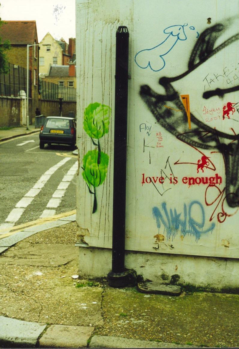 Graffiti D Shoreditch E2 98