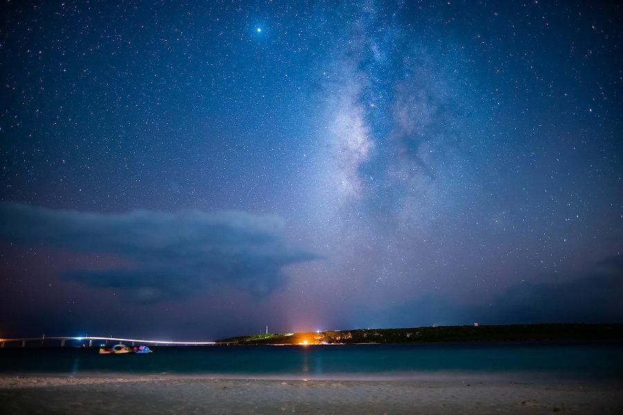 東洋一の海と満点の星空をあなたへ