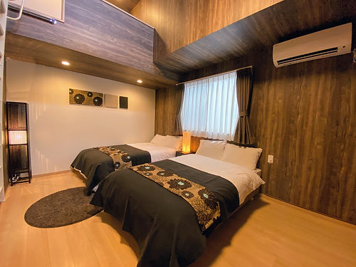 Gato ロフト付きベッドルーム