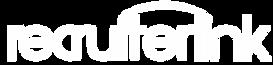 Recruiterlink logo 071118 all white tran