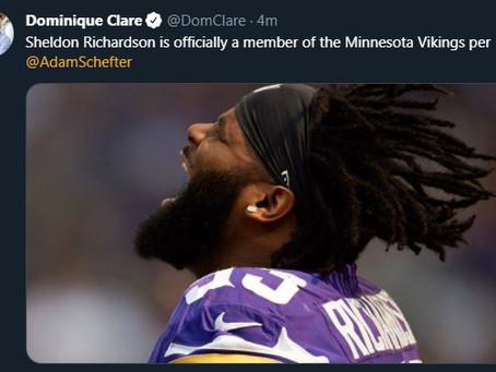 Sheldon Richardson joins the Minnesota Vikings