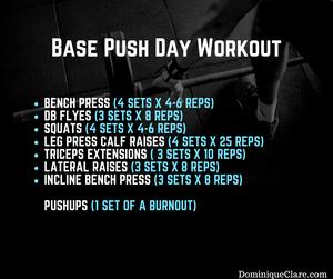 Push Day Workout