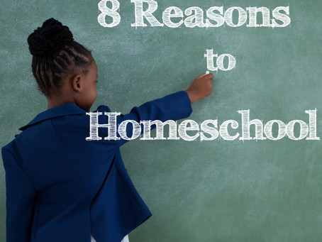 8 Reasons to Homeschool