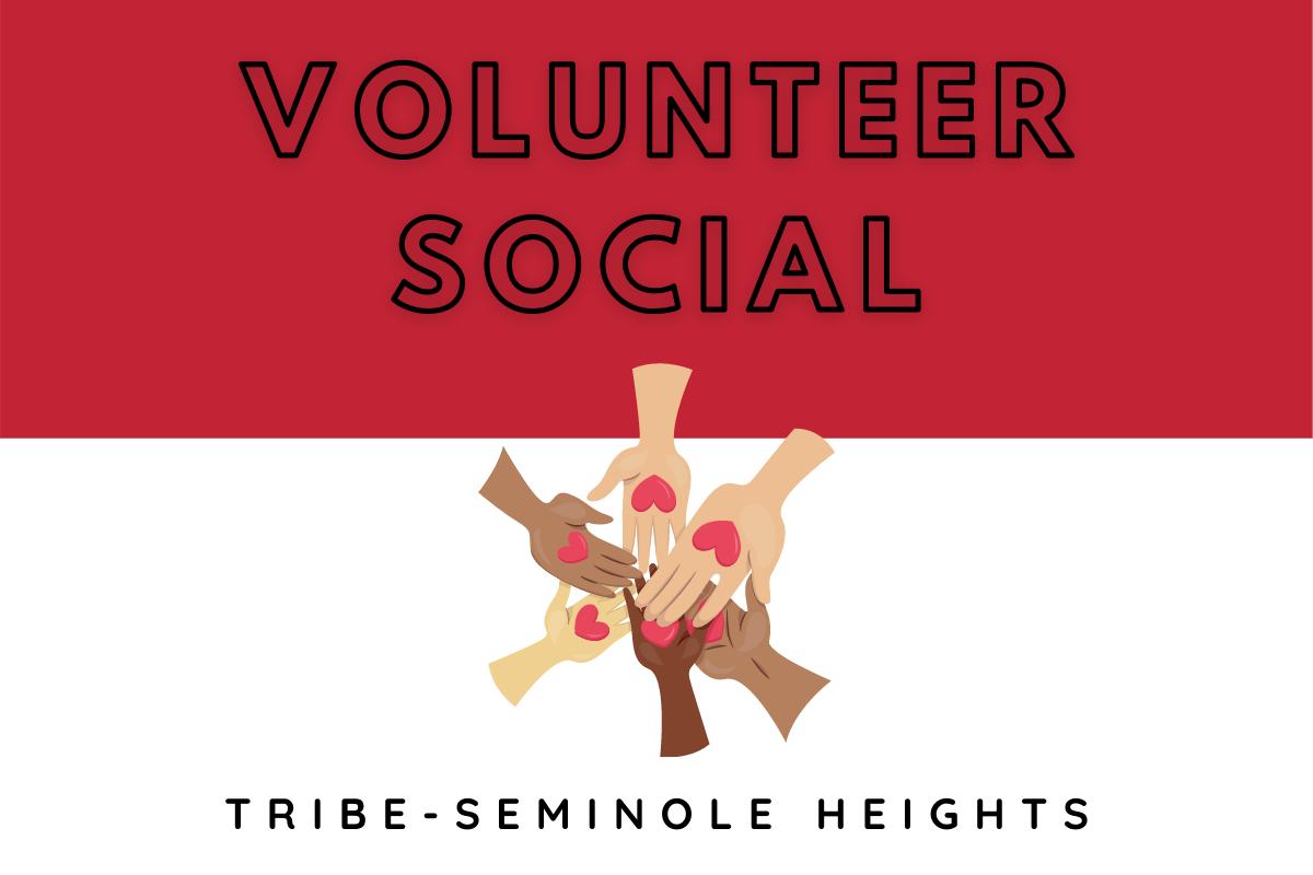 TRIBE Volunteer Social!