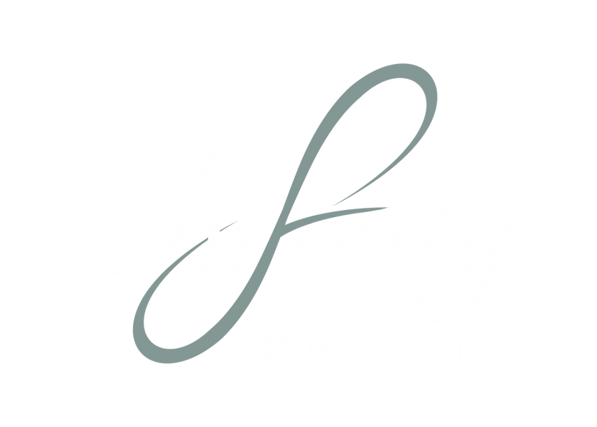 Infinity Hair Design Logo-Colour with wh