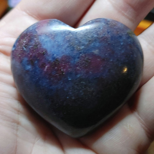 Ruby Kyanite Heart Package ( Rare charged)