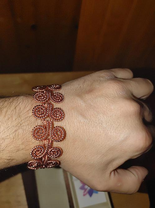 Cosmic Moon Tree Bracelet (Unisex)