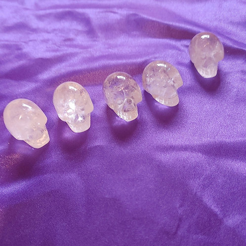 Quartz Crystal Skulls (mini) (rare charged)