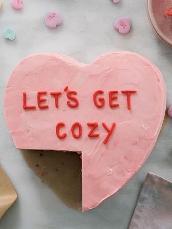 Love Heart Candy cake