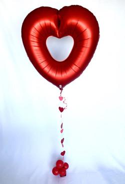 """All my Love"" giant heart"