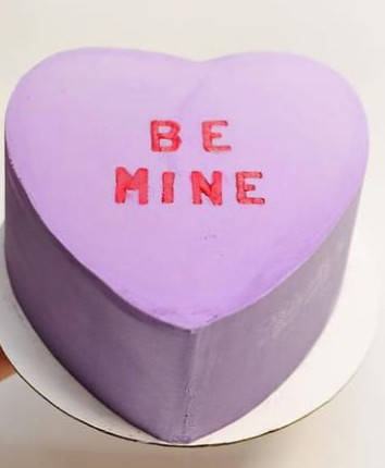 Love Heart Candy pastel cake