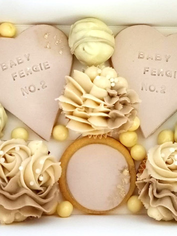 Mixed Cake Box (available in classic Valentines day colours or Love Heart candy pastel colours)