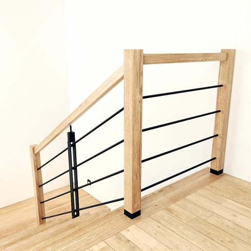 3-balustrada-drewniana-metalowa-industri