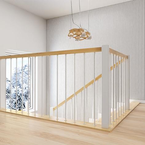 Balustrada Skandynawska II