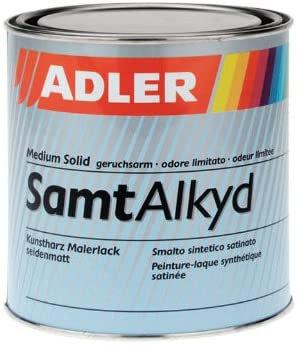 ADLER SamtAlkyd - Biała Farba Alkaidowa