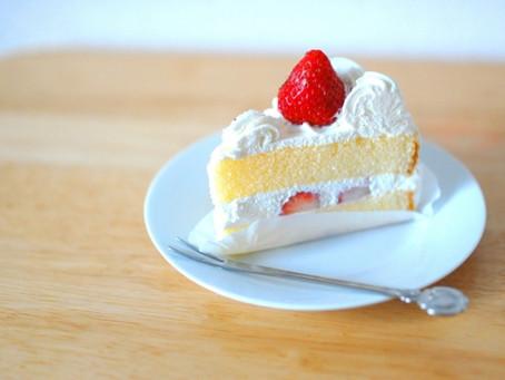 【太りにくいケーキの食べ方!】