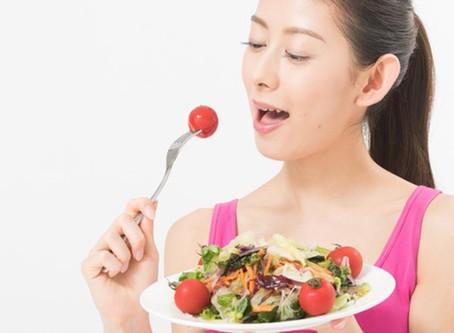 【野菜(サラダ)を先に食べると太りにくい?】