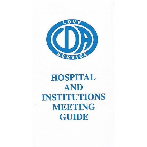 Hospitals and Institutions (25 Pack)