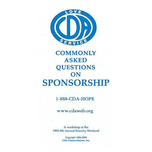 Sponsorship (25 Pack)