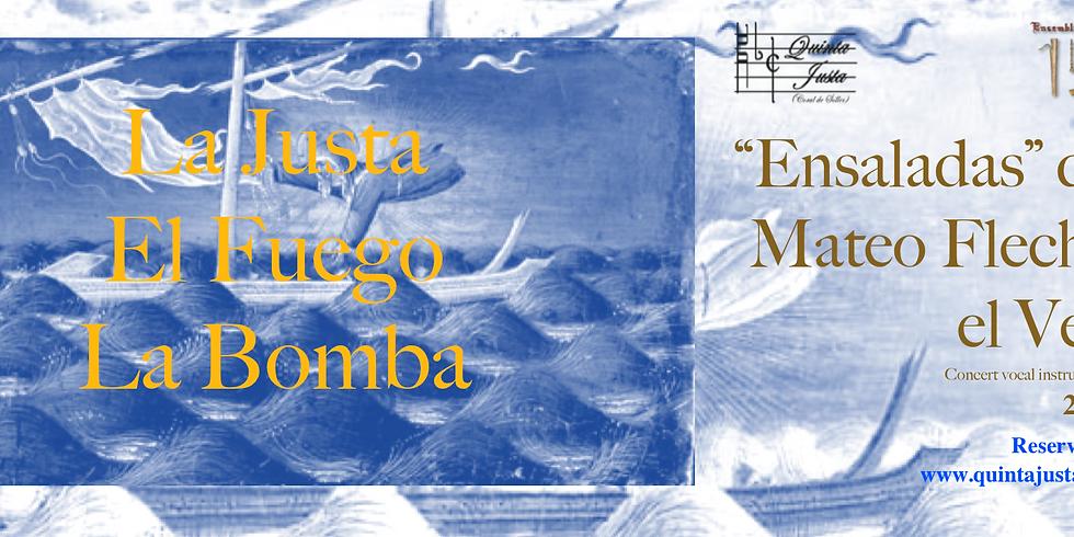 """""""Ensaladas"""" de Mateo Flecha, el Vell.  Palma"""