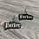 Thumbnail: Gothic Style Pet Name Tag