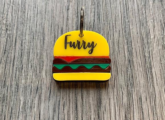 Burger ID Tag