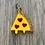 Thumbnail: Heart Pizza ID Tag