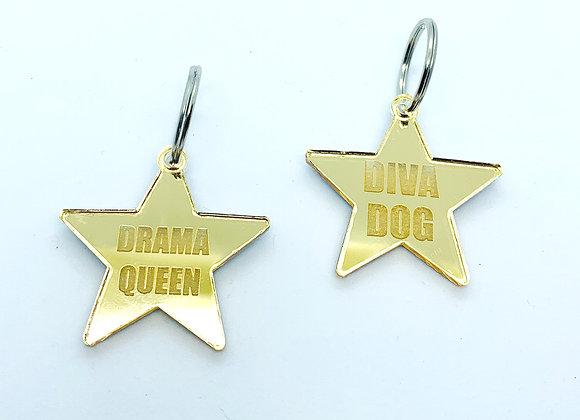 Gold Star Tag