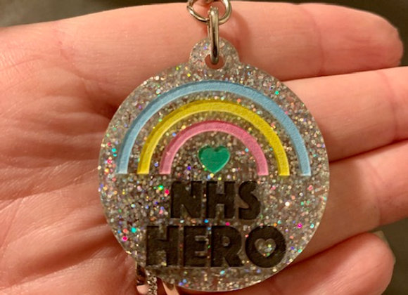 NHS Hero Rainbow Keyring