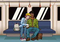 Last Train (Personal work, 2021)