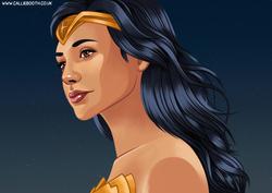 Wonder Woman (Fan art, 2018)